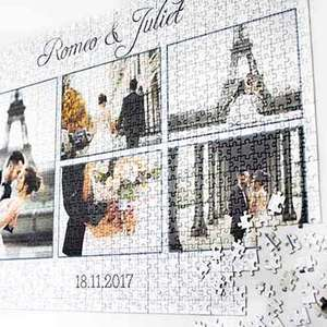 Photo Collage Puzzle 1000 pieces - 19 x 27 in